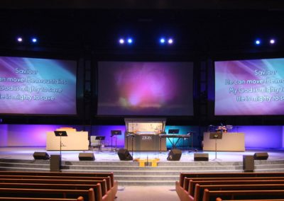Zion Church Projection & Lighting Upgrade